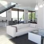 luce design d'interni — Foto Stock
