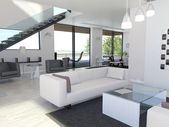Light interior design — Foto de Stock