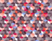 Sfondo quadrato colorato — Vettoriale Stock