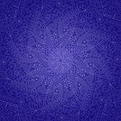 Kruhové dekorativní krajky prvek — Stock vektor