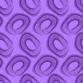 Purple Abstract Geometric Seamless Pattern — Vettoriale Stock