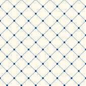 Dotted Seamless Pattern with Rhombus Structure Texture — Stock Vector