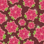 çiçekler koyu kahverengi sorunsuz zemin üzerinde — Stok Vektör