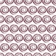 Geometric Swirl Seamless Pattern with Spiral — 图库矢量图片