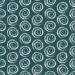 Geometric Seamless Pattern with Spiral — Vettoriali Stock