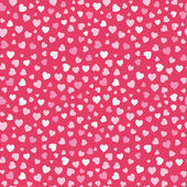 Seamless Valentine Red Background — Stockvector