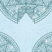 曼陀罗复古卡 — 图库矢量图片