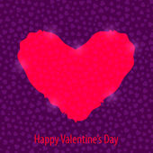 Happy Valentine's Day Background — Stock Vector