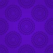 Purple Damask Seamless Pattern — Vecteur