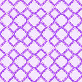 Purple Seamless Pattern with Rhombus — Stock Vector