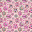Seamless Beige Pattern with Colorful Elements — Stock Photo #46507669