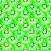 Seamless pattern with kiwi — Stock Photo
