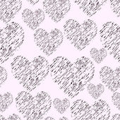 Hand Drawn Simple Seamless Pattern — Stock Photo