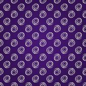 Geometric Seamless Pattern with Spiral — Wektor stockowy