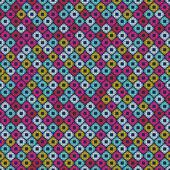 Geometrisches bunte nahtlose muster — Stockvektor