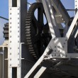 Lifting Gear Of Old Bridge — Stockfoto #12351429