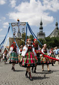 Corpus Christi in Lowicz - Poland — Stock Photo