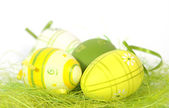 The Easter eggs — Stock Photo