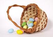 复活节的篮子里 — 图库照片