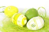 Los huevos de pascua — Foto de Stock