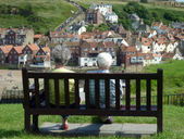 Whitby view — Stock Photo