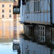 Stock Photo: Flooded York City Street