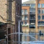 Flooded York City Street — Stock Photo #15733851