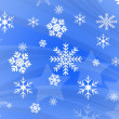 Snow flake design — Stock Photo #16814319