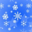 Snow flake design — Stock Photo #17343995