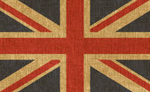 Texturizado bandeira do reino unido — Foto Stock