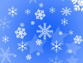 Snow flake design — Stock Photo