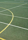 Superficie de deportes al aire libre — Foto de Stock