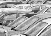 Overvolle parking — Stockfoto