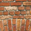Crumbling brickwork - Stock Photo