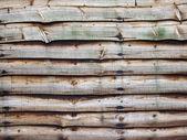 Wooded fence panel — Stock Photo