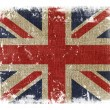 Grunge Union Jack — Stock Photo