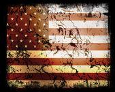 Usa vlag — Stockfoto