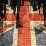British shoppers — Stock Photo