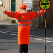 Stock Photo: School crossing patrol officer