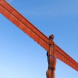 Angel of the North view — Stock Photo #27144907