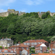 Scarborough Castle view — Stock Photo