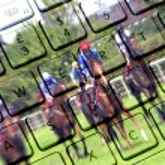 Internet gambling — Stock Photo