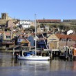 Stock Photo: Whitby postcard view