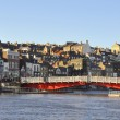 Whitby Swing Bridge — Stock Photo
