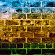 Coloured stonewall — Stock Photo #36807071
