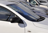 Parked cars — Stock Photo