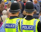 British policemen — Stock Photo