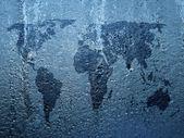 Frysta världen — Stockfoto