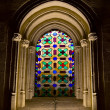 Stained Glass Window in Mezquita — Stock Photo