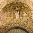 Religious Reliefs in Mezquita Cathedral — Stock Photo